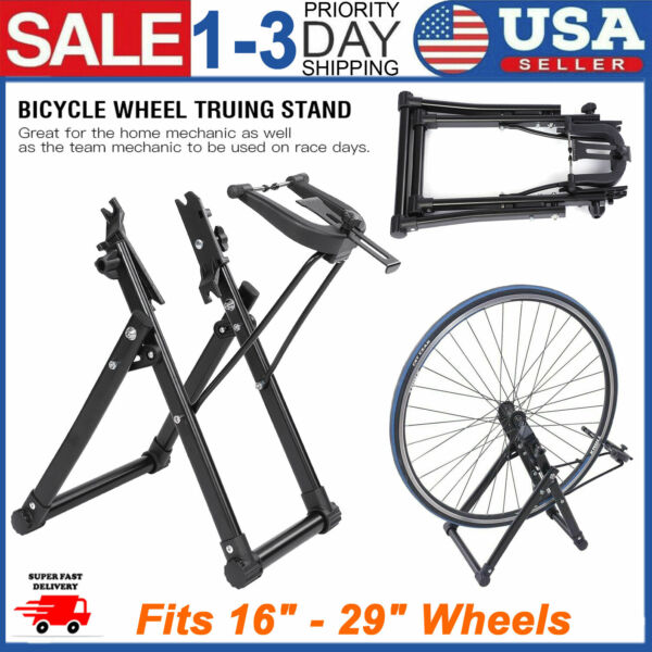 NEW Bike Wheel Truing Stand Bicycle Wheel Maintenance Fits 16quot; 29quot; 700C Wheels $43.25