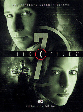 The X Files The Complete Seventh Season DVD 2003 6 Disc Set