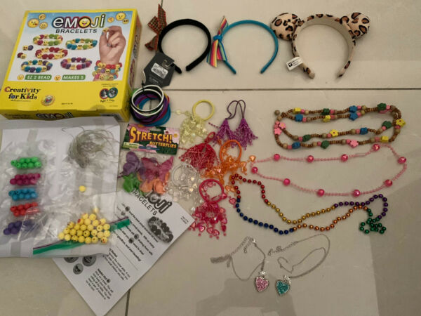 girls dress up costumes and accessories Hair And jewelry And More $12.00