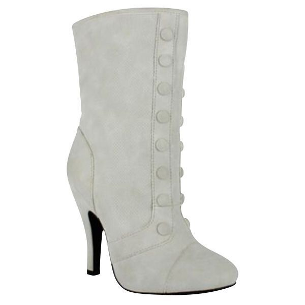 Dolce Womens Foxy Mid Calf Boot Ice Size 8.5 #NJZU8 595