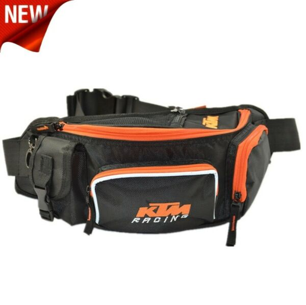 New Black KTM Motorcycle Bike Riding Waist Bum Bag Fanny Pack Phone Wallet Carry $20.95