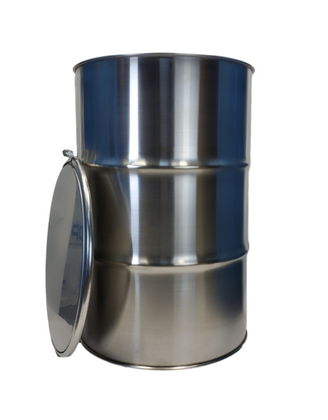 55 Gallon Stainless Steel Barrel Drum Open Top 1.0mm thick NEW $399.00