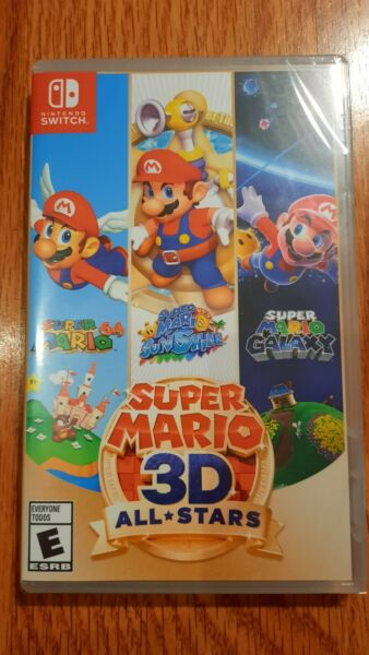 Super Mario 3D All Stars Nintendo Switch FAST SHIPPING $64.95