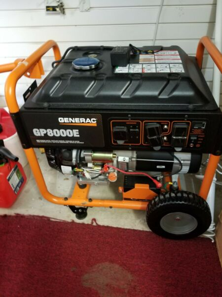 Portable Portable Electric Start RV Gas Power Generator 10000 watts