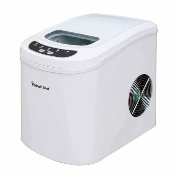 27 lb. Portable Countertop Ice Maker Produces Ice 2 Sizes Digital Control Panel
