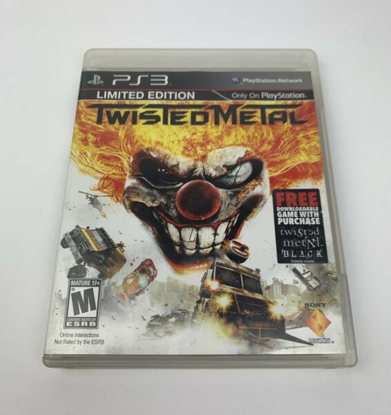 Twisted Metal Limited Edition Sony PlayStation 3 PS3 Complete Tested