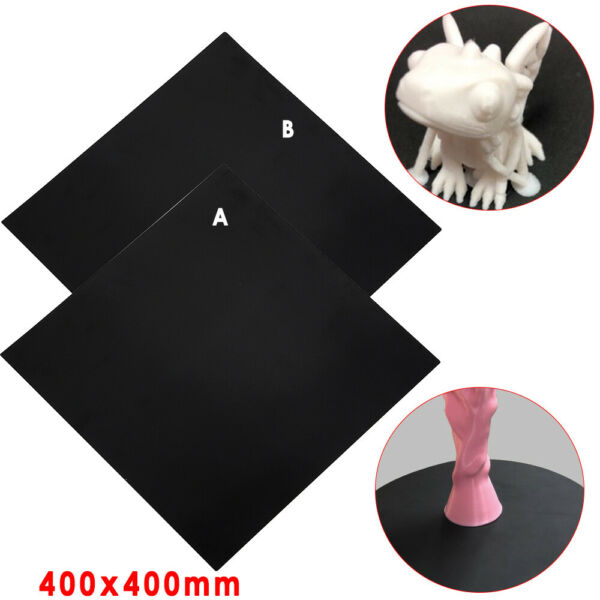 400x400mm Square Build Surface Heat Hot Bed Magnetic Sticker Mat for 3D Printer $29.02