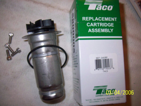 Taco Replacement Cartridge Assembly 007 Bronze Pump Central Boiler Wood Heater $67.95