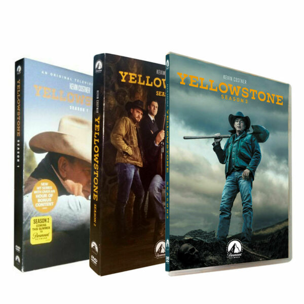 Yellowstone Season 1 amp; 2 amp; 3 1 3 DVD 12 Disc NEW SEALED FREE SHIPPING US SELL $23.98