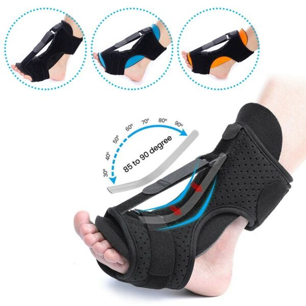 Adjustable Plantar Fasciitis Splint Night Foot Drop Orthotic Brace Night Splints