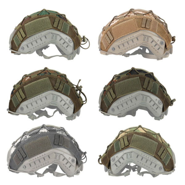 Tactical Military Helmet Camo Cover for FAST Airsoft Paintball Hunting Shooting $9.99