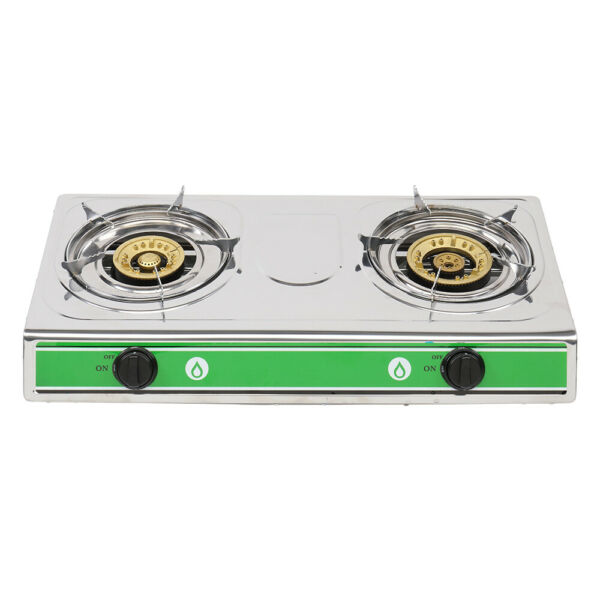 Portable Propane Gas Stove DOUBLE 2 Burner Camping Tailgating Stoves 20000 BTU
