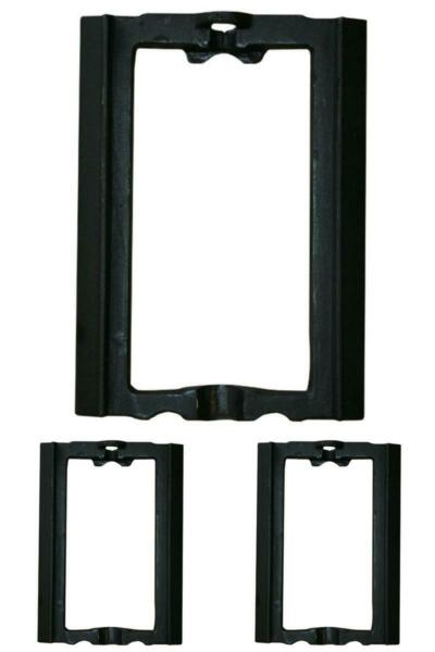 Shaker Grate Frame Series Furnaces Iron Black Heavy Duty Steel Fireplace Grates