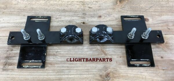 Federal Signal Twinsonic Lightbar Pair of Off Setting Roof Mounts