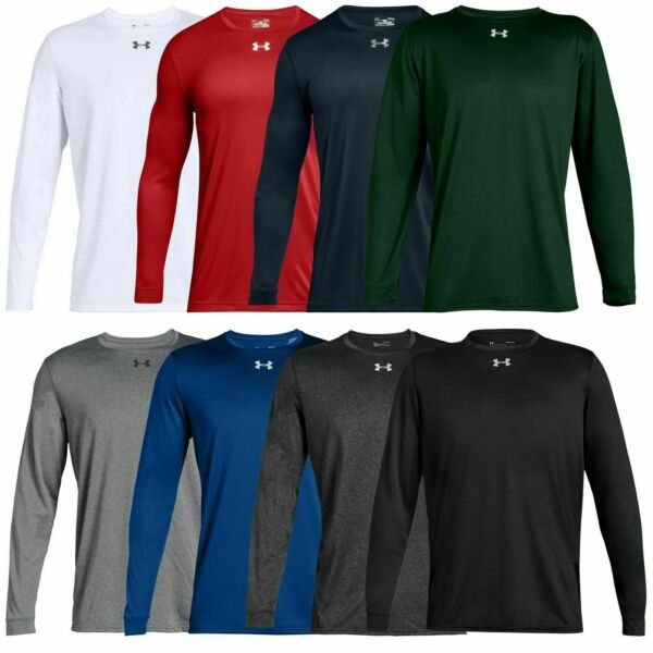 New With Tags Men#x27;s Under Armour Gym Muscle Crew Long Sleeve Tee Shirt Top $21.61