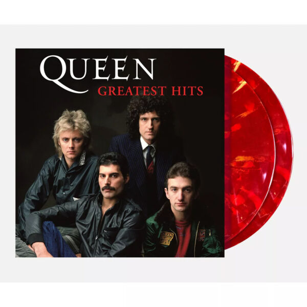 Queen Greatest Hits Exclusive Limited Edition Ruby Blend Colored 2x Vinyl LP