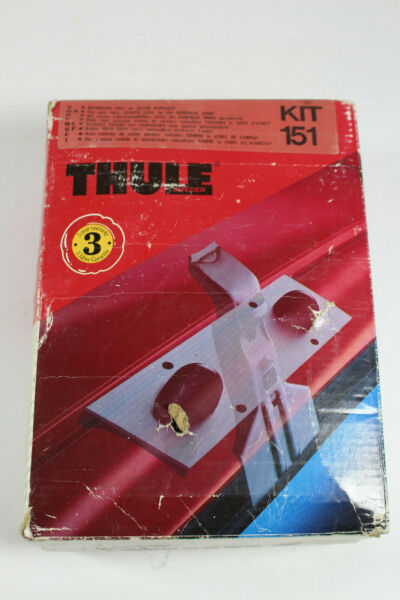 Thule Kit 151 Thule Rack Systems 4 Kit brackets 4 Rubber Pads $89.96
