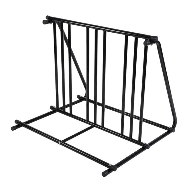 Bike Bicycle Floor Parking RackBlack Bike Parking Stand Garage Bicycle Stand $64.95