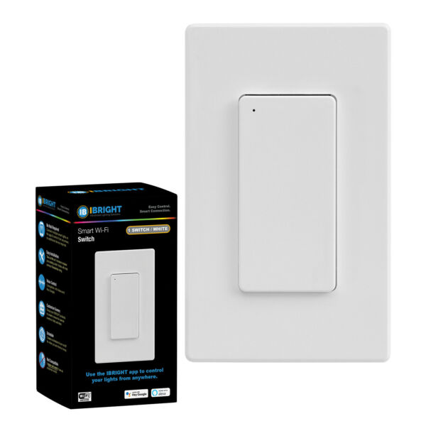 Smart Wi Fi On Off Wall Light Switch No Hub Required Works with Alexa amp; Google $22.99