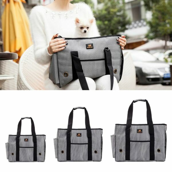 Portable Pets Carrier Dog Bag Car Travel Handbag Shoulder Bags Cats Dogs Kennel $35.09
