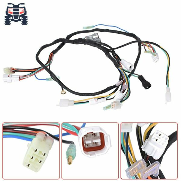 NEW For Yamaha Banshee wiring harness 3GG 10 COMPLETE REPLACEMENT 1997 2001 $36.21
