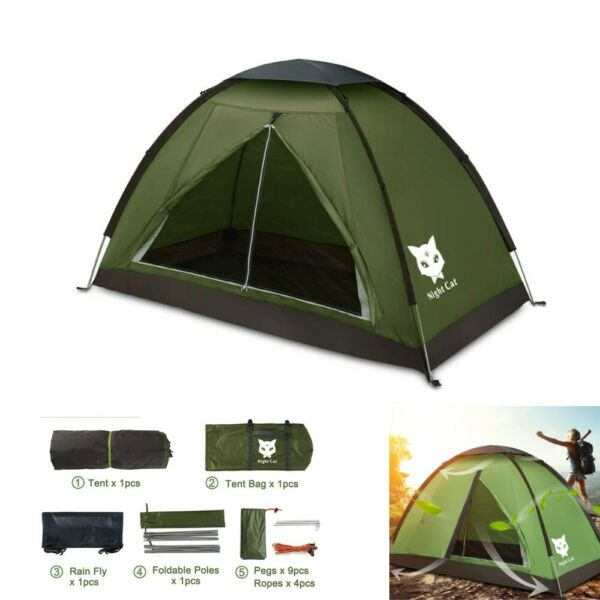 2020 Waterproof Backpacking Tent for 1 2 Person Hiking Camping Tent Sun Shelter $39.98