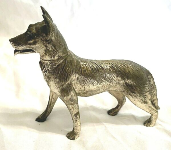 Vintage cast metal Dog made in Japan $19.99