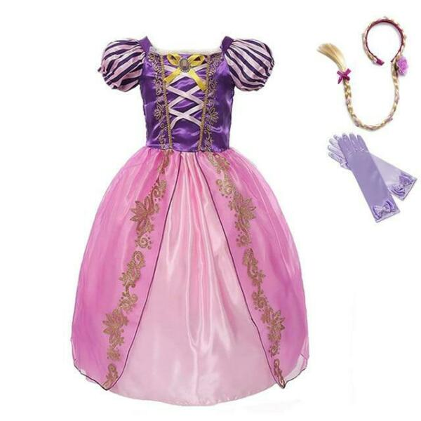 Rapunzel Dress Up Party Costumes for Girls $30.99