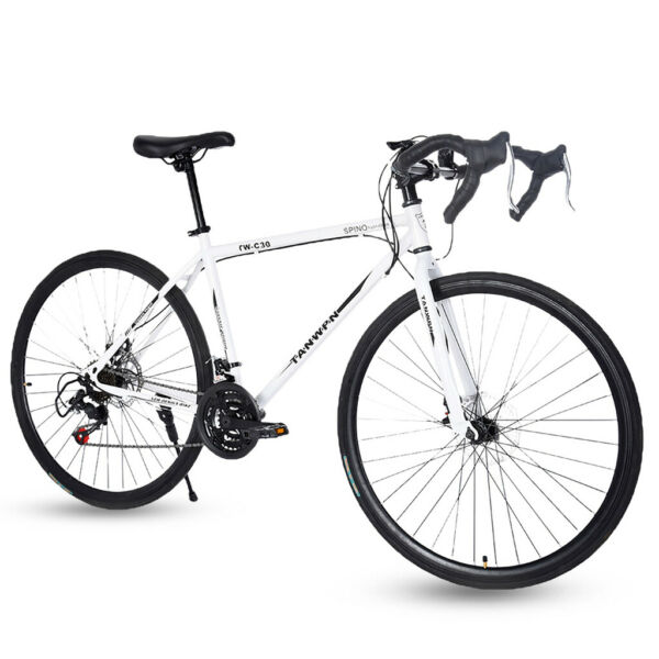 Road Bike 21 Speed Men#x27;s Bikes 700C wheels Bicycle Disc Brakes $199.99