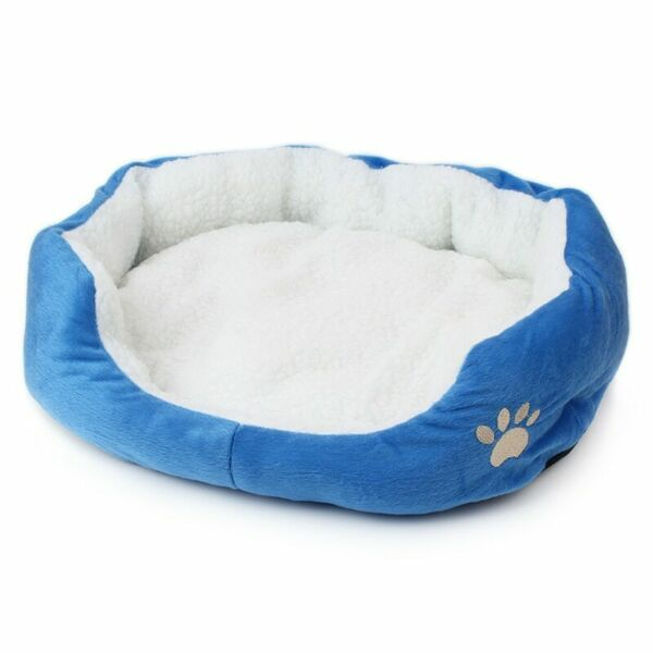 Sofa Dog Beds Soft Nest Dog Baskets Multi Colour Fleece Warm Cat Bed Fall and Wi $30.99