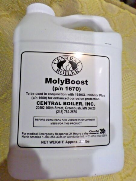 Central Boiler MolyBoost For Outdoor Wood Boilers #1670 Enhanced Protection NEW $39.35