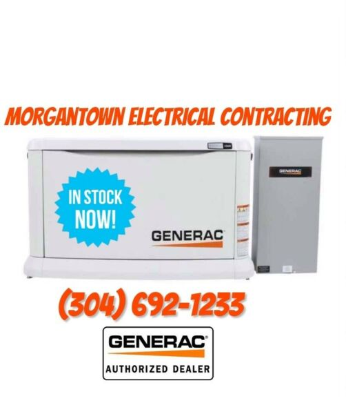 Generac Guardian Series Air Cooled Home Standby Generator — 22 kW LP 19.5 kW