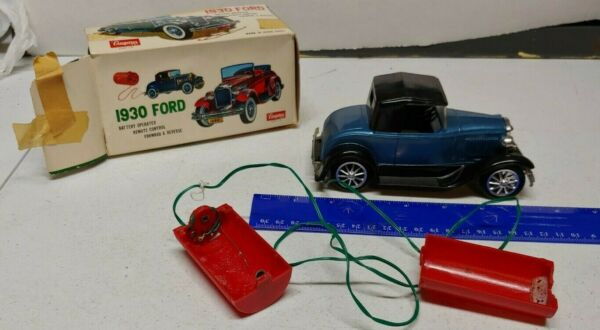 CRAGSTAN BATTERY OPERATED 1930 FORD MODEL quot;Aquot; REMOTE CONTROL