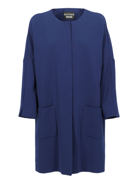 Moschino Special Price Women Outwear Navy IT 40 $310.00