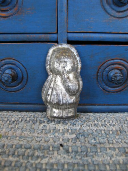 Small Antique One Piece Little Girl Chocolate Mold