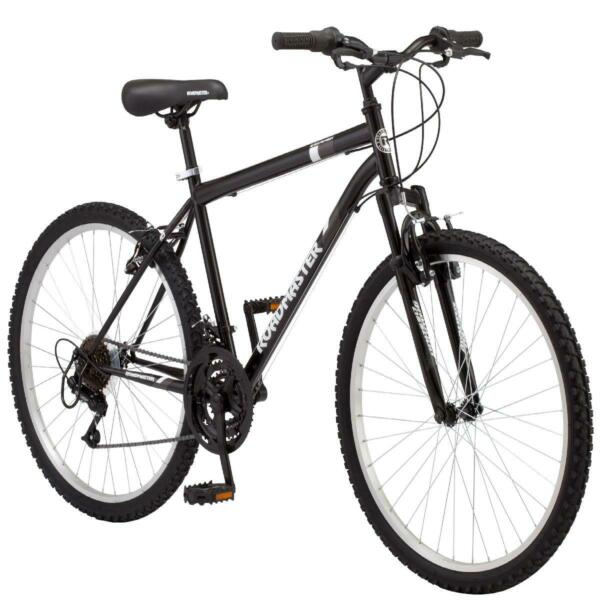 Roadmaster Granite Peak Men#x27;s Mountain Bike 26 inch wheels black $131.99