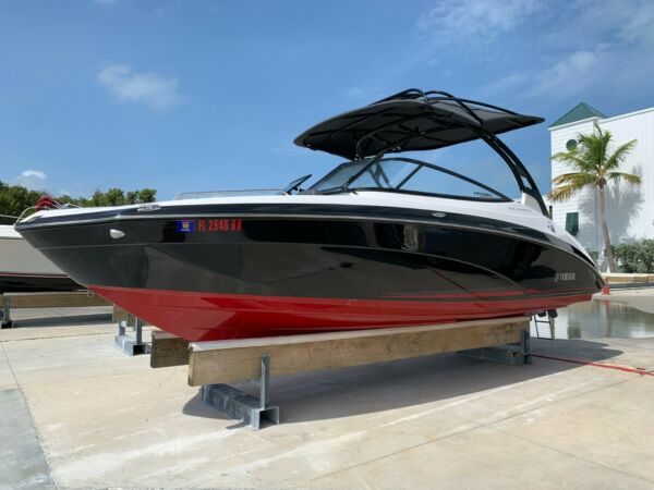 2017 YAMAHA 242 Limited S E Series with galvanized trailer $62500.00