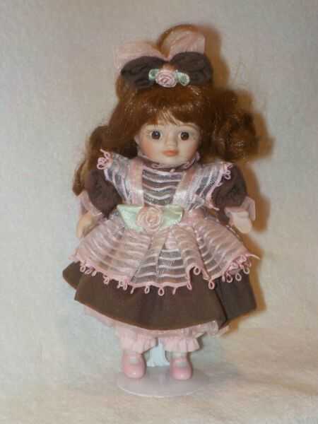 6quot; Bisque Cloth Doll By Marie Osmond Dolls