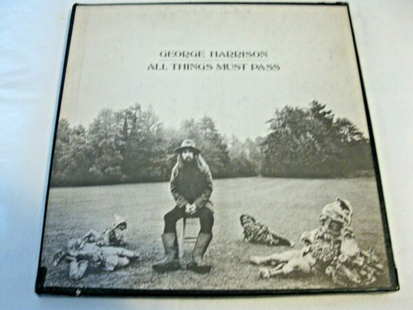 All Things Must Pass by George Harrison vinyl LP 1970 $40.00
