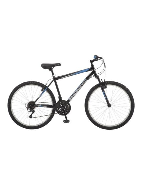 Roadmaster Granite Peak Men#x27;s Mountain Bike 26quot; wheels Black Blue NEW $200.00