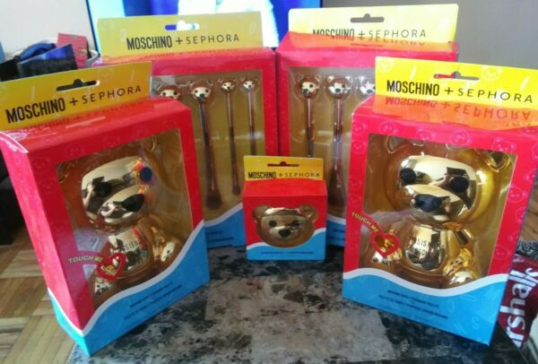 BNIB amp; Authentic Moschino Sephora Bear Collection $100.00