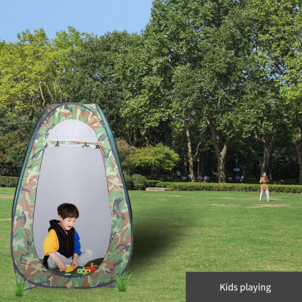 Pop Up Tent Instant Portable Shower Tent Outdoor Privacy Toilet amp; Changing Room $37.99