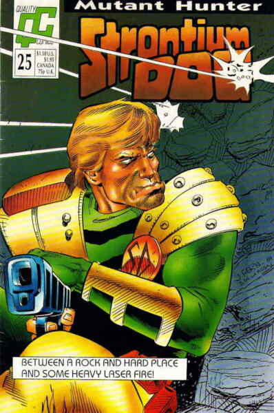 Strontium Dog #25 FN; Fleetway Quality save on shipping details inside $2.99