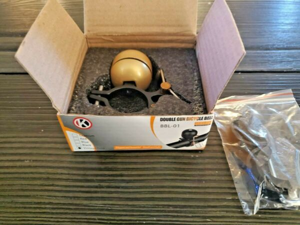 HLSM Classic Brass Bicycle BellBike Bell for Adults Bike Ringer Bell for Bicy $19.99