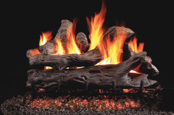 Real Fyre Coastal Driftwood Vented Gas Logs CDR 18 *OPEN BOX* 164