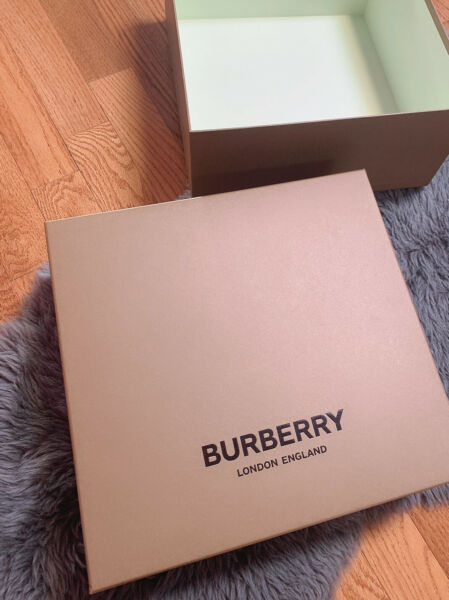 "Auth Large Burberry gift box Size 17""x16""x6"" $38.00"