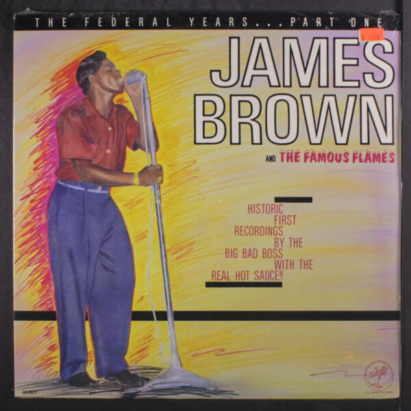 JAMES BROWN: the federal years part 1 SOLID SMOKE 12quot; LP