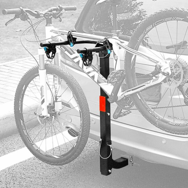 2 Bike Carrier Rear Hitch Rack Bicycle Rider Mount Sport Fold Receiver 2quot; $75.99