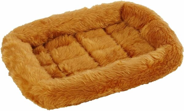 Pet Bed Dog Beds Ideal for Metal Dog Crates Machine Wash amp; Dry Cinnamon $8.99