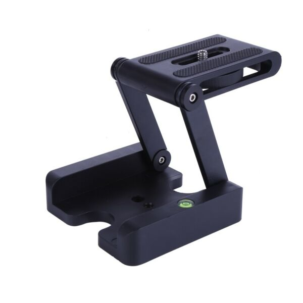 Camera Z Flex Pan Tripod Head Folding Tilt Stand Mount Holder Studio Bracket New